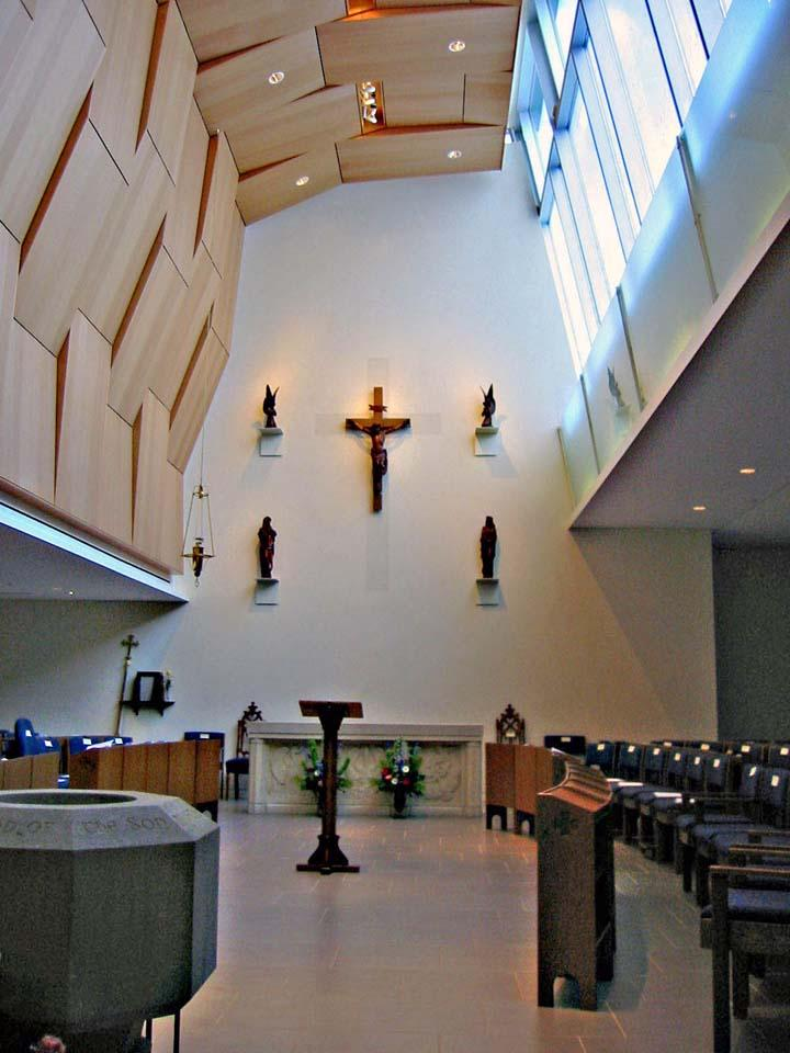 Front View of Chapel